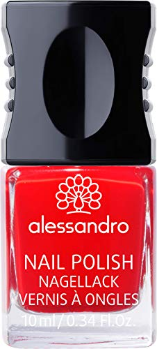 alessandro Nagellack 12 Classic Red, 10 ml