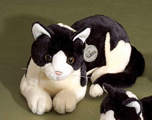 Förster Stofftiere 3472 große liegende Katze, 30 cm lang