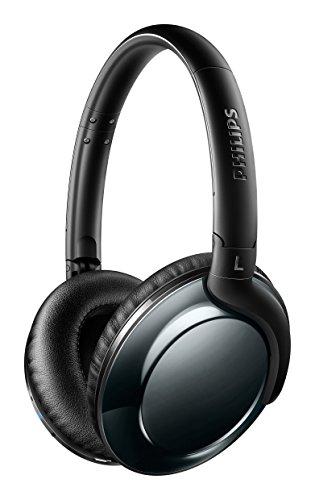Philips SHB4805DC Flite Everlite Over-Ear Bluetooth-Kopfhörer (mit Mikrofon, Federleicht, 13 Stunden Akku, Faltbar) schwarz