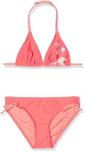 Roxy Mädchen Essentially Bikini-Set Essent ROX TRI, neon Grapefruit, 12, ERGX203048
