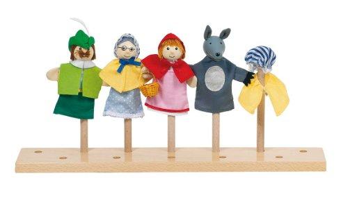 Goki 51898 - Marionetas de Dedo