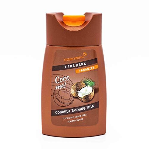 Tannymaxx X-tra Dark Coconut Tanning + Bronzing Milk, 200 ml