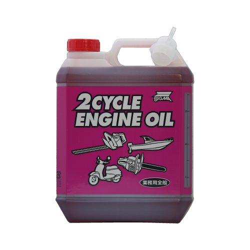 三油化学 シグマ エンジンオイル 業務用全般 2サイクル 4L [HTRC3]