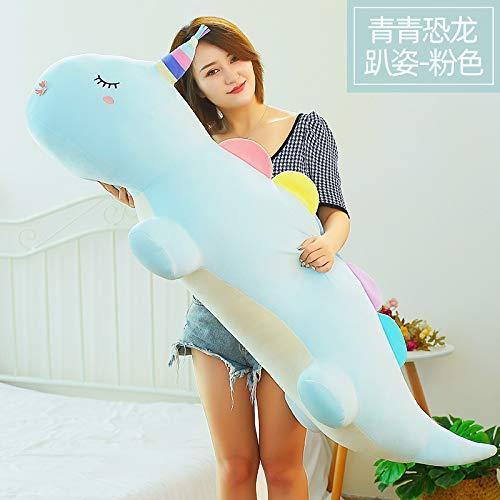 tuyuzhen Cartoon Dinosaur Plush Toy Pillow Girl Cushion 80cm Y