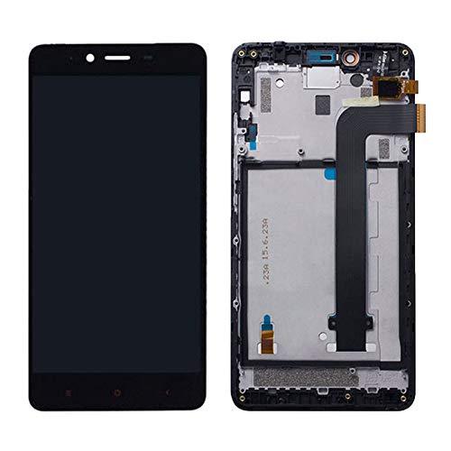 WSDSB Reemplazo de Pantalla LCD para Pantalla LCD Fit For Xiaomi Redmi Note 2 De 5,5 ″ En Teléfonos Móviles, Piezas De Montaje De Digitalizador LCD + Marco De Teléfono con Pantalla Táctil LCD