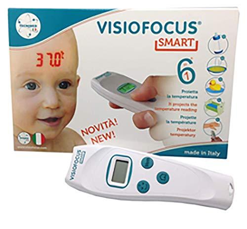 Tecnimed Visiofocus Smart TM06470 - Termómetro infrarrojo sin contacto - 90 g