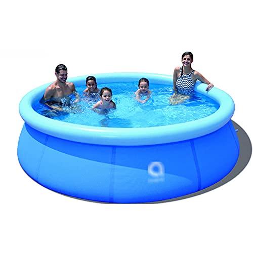 ZXQZ Kayak Piscina, Piscinas Infantiles Inflables Familiares para Niños Adultos, Blow Up Kids Pool para Jardín Al Aire Libre En El Patio Trasero, 177 '' X 35 '' (Color : Blue)