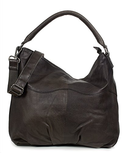FREDsBRUDER Schultertasche Big Wave dark grey