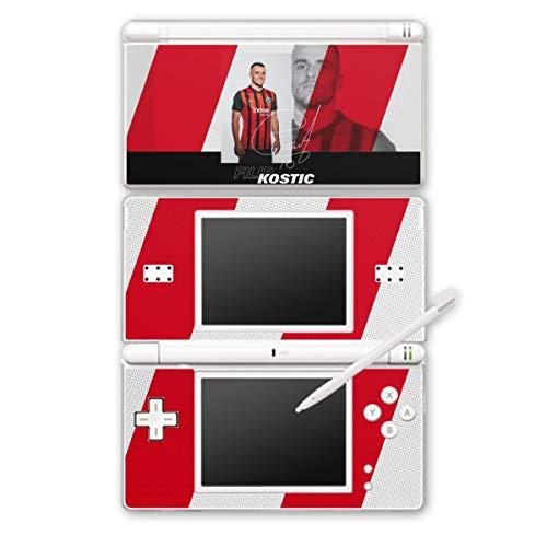 Skin Aufkleber Sticker Folie kompatibel mit Nintendo DS Lite Filip Kostic Fußball Eintracht Frankfurt