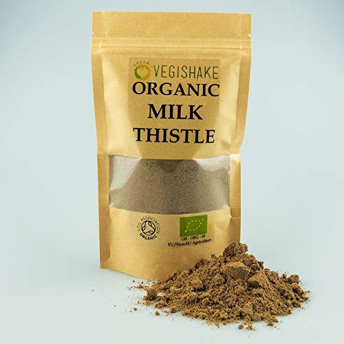 Organic Liver Detox Silymarin Powder Antioxidant Protein Liver Health (150g)