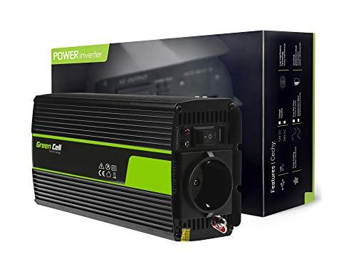 Green Cell 300W/600W Onda sinusoidal modificada Inversor de Corriente Power...