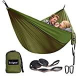 Best Camping Hammocks - Unigear Camping Hammock 320 x 200cm for 2 Review