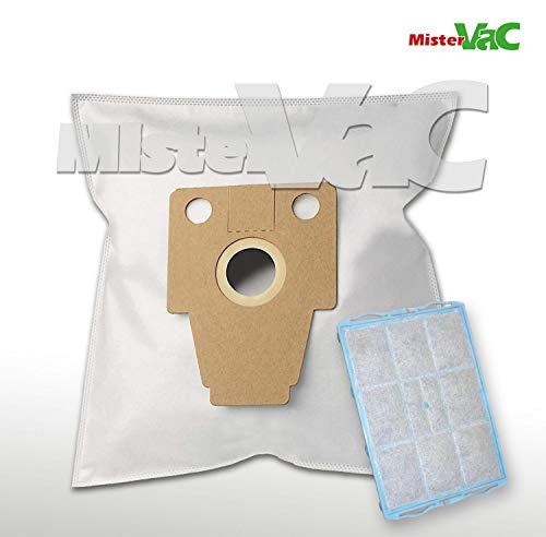 10x Sacchetto per aspirapolvere Micro tessuto non tessuto per Bosch//Siemens 468264-bbz41fp-vz41afp