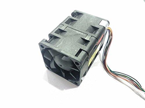 Invento 40x40x55mm Ventilador de enfriamiento de doble etapa 12V DC 8 alambre para impresora 3D robótica DIY