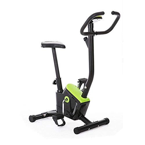 SHDS Bicicleta estática para Ejercicios en Interiores, Bicicleta de Ciclismo para el hogar, Entrenador Deportivo Mudo, con Resistencia a la Velocidad, Equipo para Ejercicios para Bajar de Peso