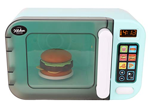 TOYLAND® My 1st Microondas con luz y Sonido - Juguete de Cocina - con Comida simulada