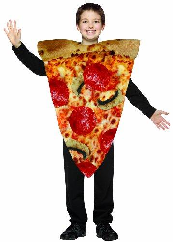 Rasta Imposta Pizza Slice Childrens Costume, 7-10, Multicolor