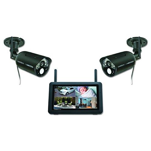 Uniden UDR777HD Video Surveillance Uniden 7' Touchscreen HD Video Surveillance, Black (UDR777HD),White
