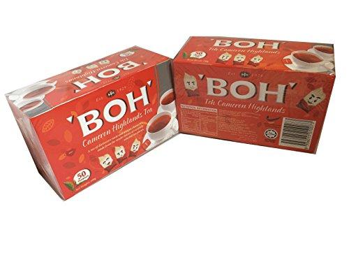 高級紅茶BOH・ボーティー キャメロン高原ティー(1箱・50ティーパック 100g)x2  [並行輸入品]