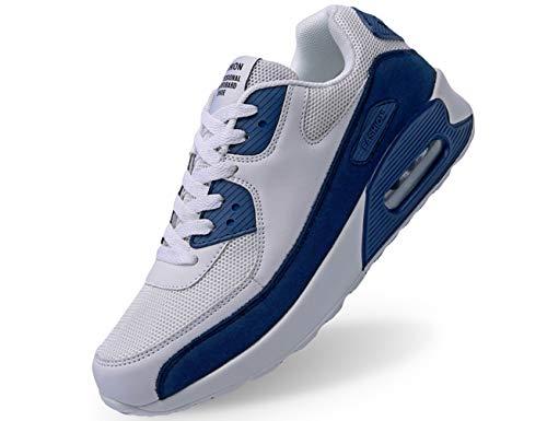 IYVW Herren Laufschuhe Turnschuhe Fitness Straßenlaufschuhe Sneaker Atmungsaktiv rutschfeste Mode Lässig Sportschuhe