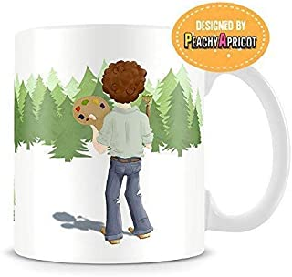Bob Ross Mug - Good Day When You Paint Quote - Officially Licensed Coffee Cup