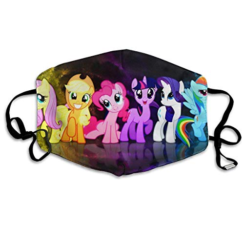 Ademende zachte maskers Unicron Friendship is Magic Cartoon Pony Poster stof mond maskers gezicht oorloop maskers allergene maskers