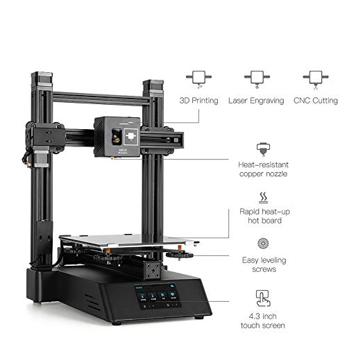 3 in 1 CP-01 3D Printer Laser Engraving Machine CNC Router Milling Mahine Wooden DIY Carving Engraver Tool