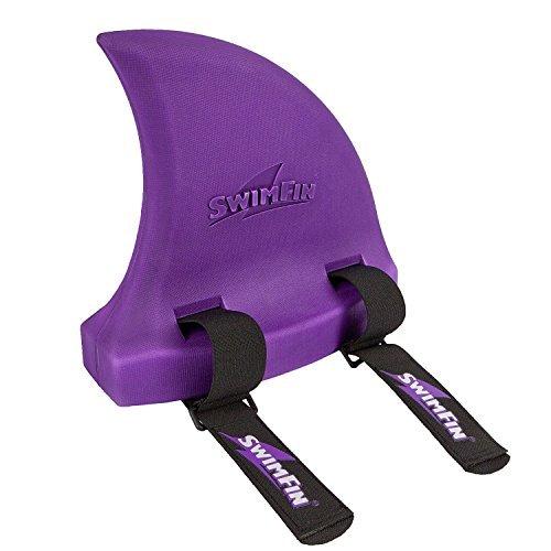 SwimFin Shark Swimming Aid Purple by Swimfin