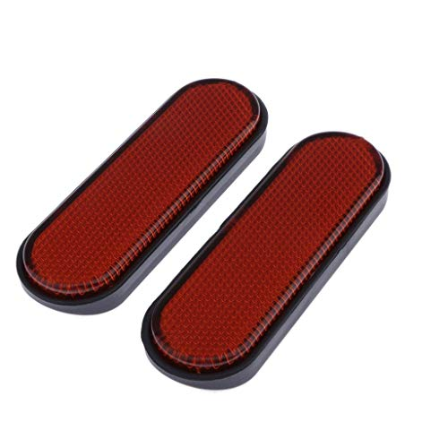 Motorcycle Abs Plastic Red Front Fork Leg Reflector Cover For Victory Judge