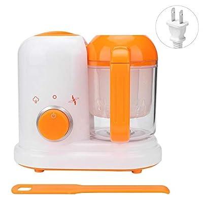 Yosooo 4-in-1 Mini Baby Food Maker?Baby Food Maker Chopper Grinder - Mills and Steamer Processor for Toddlers - Blend, Clean, Auto Shut-Off, 120V(110v-120v US)