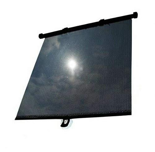 MASO Sonnenschutz 2 x Auto Sonnenrollo für Kinder Sonnenschutz Sonnenschutz Packung mit 2 Stück