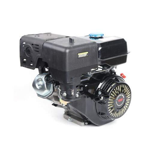 vcbfd - Motor de gasolina, 15 CV, 420 CC, motor de 4 tiempos con alarma de aceite, 9 kW, monocilíndrico DHL