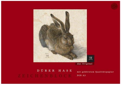 Edition Dürer Zeichenblock Dürer Hase A3