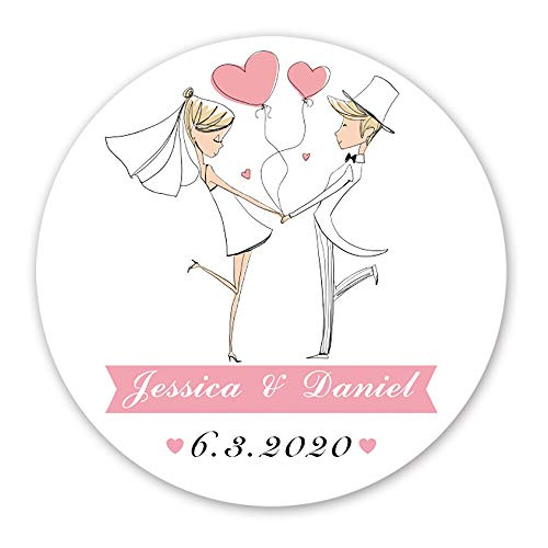 Personalized Wedding Favor Stickers Wedding Stickers for Favor