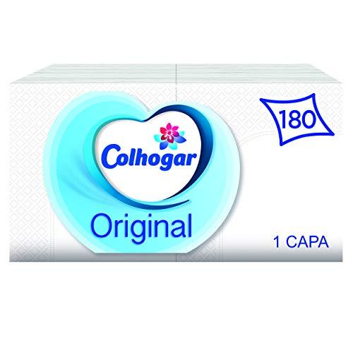Colhogar 7322540997194 Servilletas Original 1 Capa Blanca, 1