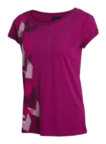 Hummel Damen T-shirt Carola Short Sleeve, wild aster, S, 08-664-3353
