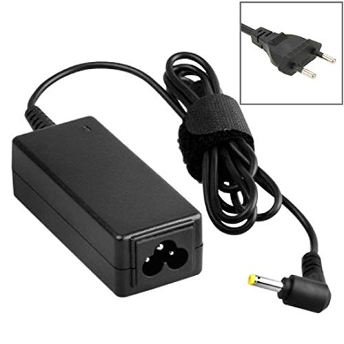 RUNNA US Plug AC Adapter 18.5V 3.5A 65W for HP COMPAQ Notebook, Output Tips: 4.8 x 1.7mm Durable (Color : Black)