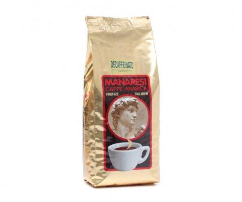 Manaresi Espresso koffeinfrei - 1kg ganze Bohnen