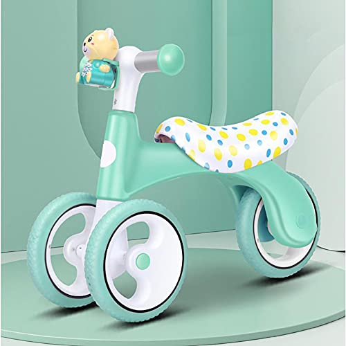 Baby Balance Bicicletas para 1-3 Años Niña Niño Cabalgando Juguetes Sin Pedal Infantil 3 Ruedas Bebé Bicicleta Mejor Ciclismo Juguete Regalos Ayuda Bebé a Empezar A Cabalgar,