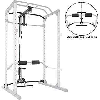 Fitness Reality 810XLT Super Max Power Cage with Optional Lat Pull-down Attachment and Adjustable Leg Hold-down (B081ZRSDQ1) | Amazon price tracker / tracking, Amazon price history charts, Amazon price watches, Amazon price drop alerts