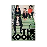 NMBO The Kooks Band Poster Decorative Painting Canvas Wall Art Living Room Posters Bedroom Painting 12x18inch(30x45cm)