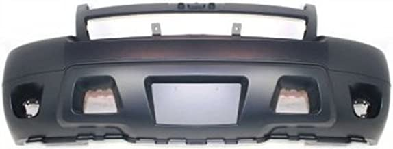 Crash Parts Plus Front Bumper Cover Replacement for 2007-2014 Chevy Avalanche, Suburban, Tahoe