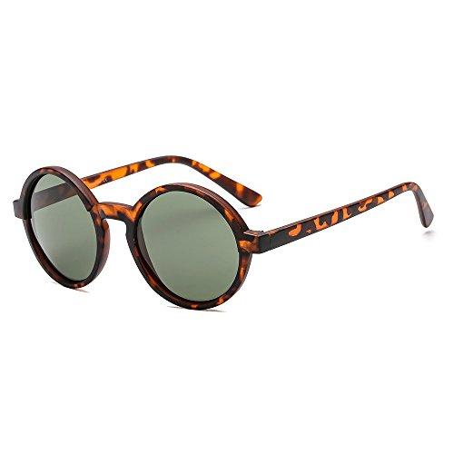 Suertree Gafas de sol de Mujer Ronda pequeña UV400 Gafas de sol vintage Gafas de sol retro