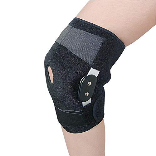 ASDFGH Einstellbare Knieschützer Gelenkbus Knieorthese Stützgürtel Ligamentum Sports Injury Orthopädische Splint Sports Knieschützer