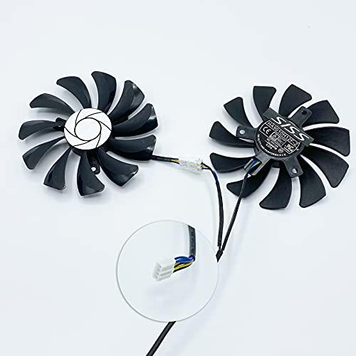 Ventilador para MSI GeForce GTX 1060 OC 6G / P106-100 / MSI GeForce GTX 1660 VENTUS XS C/RTX 2060 VENTUS XS C