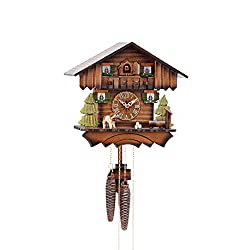 mygermanstore Cuckoo Clock Chalet House 1 Day Movement
