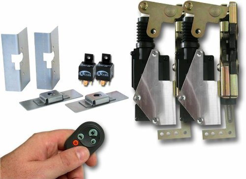 Autoloc BCLGPR Large Power Bear Claw Door Latch with Remote