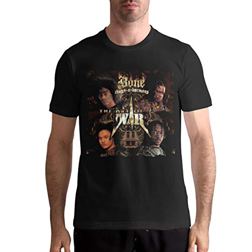 Mens Tshirts Man Bone Thugs N Harmony Tops Black