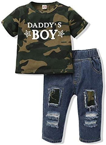 Baby Boy Clothes 6 12 Months Toddler Boy Outfit Infant T Shirt Short Sleeve Daddy s Boy Top product image