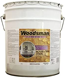 True Value WSOVLT-5GAL WSOVLT-5-Gallon 5-Gallon LTBase HSE Stain Solid Color Oil House and Trim Stain